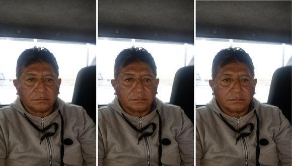 Eduardo Trujillo, 'Viejo Lucho', el día que fue trasladado desde Huacho hasta la Dirincri en Lima, (Captura de video)