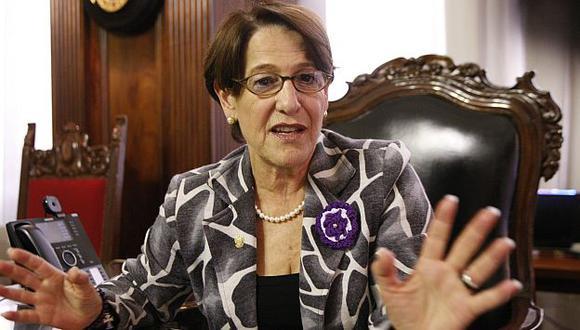 Susana Villarán no se siente derrotada. (Luis Gonzales)
