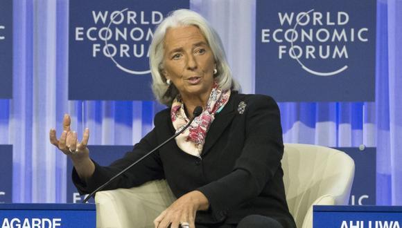 """Christine Lagarde, alertó que la inflación en la zona euro """"está por debajo del objetivo"""". (AP)"""