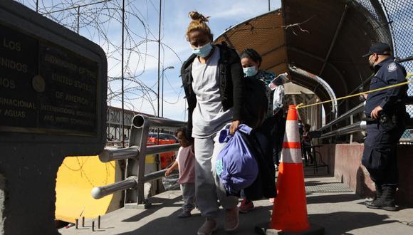 En los siete meses que van del presente año fiscal, que empieza en octubre, Estados Unidos ha deportado a unas 37.000 personas. De seguir a este ritmo sería la primera vez que baja de 100.000 en un solo año. (Foto: HERIKA MARTINEZ / AFP)