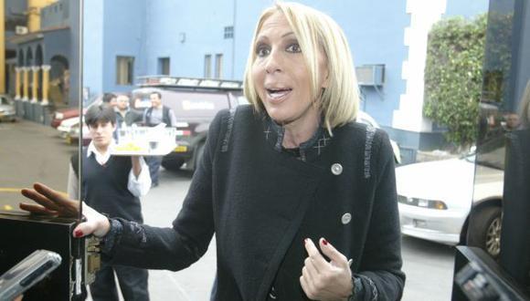 Laura Bozzo no suelta a Magaly Medina. (USI)