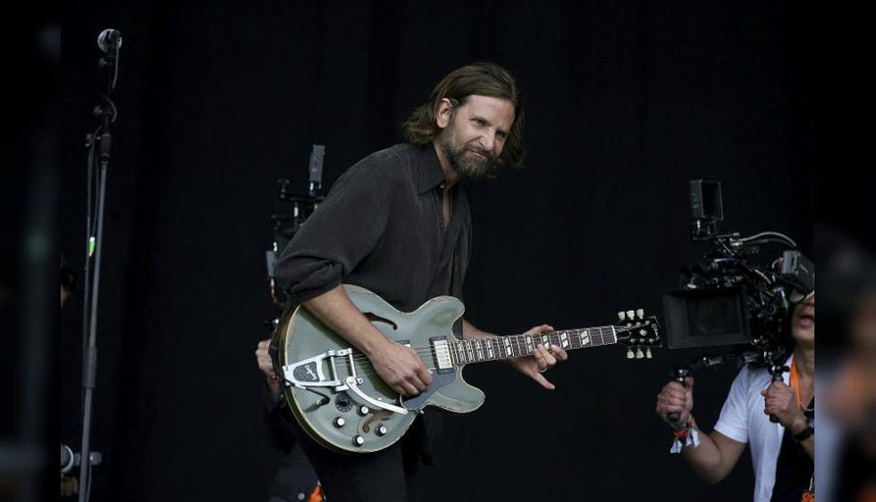 El actor estadounidense Bradley Cooper sorprendió a todos los asistentes al festival de música de Glastonbury. (EFE)