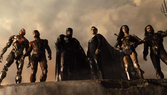 """""""Justice League"""": Zack Snyder lanzará una versión en blanco y negro de su película. (Foto: HBO Max)"""