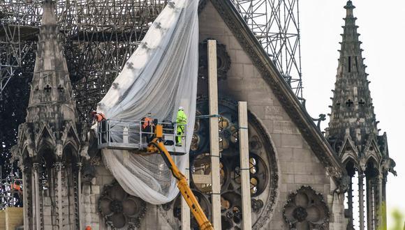 La Fundación para el Patrimonio había indicado el miércoles que habían sido alertada sobre numerosos fraudes en Francia. (Foto: AFP)