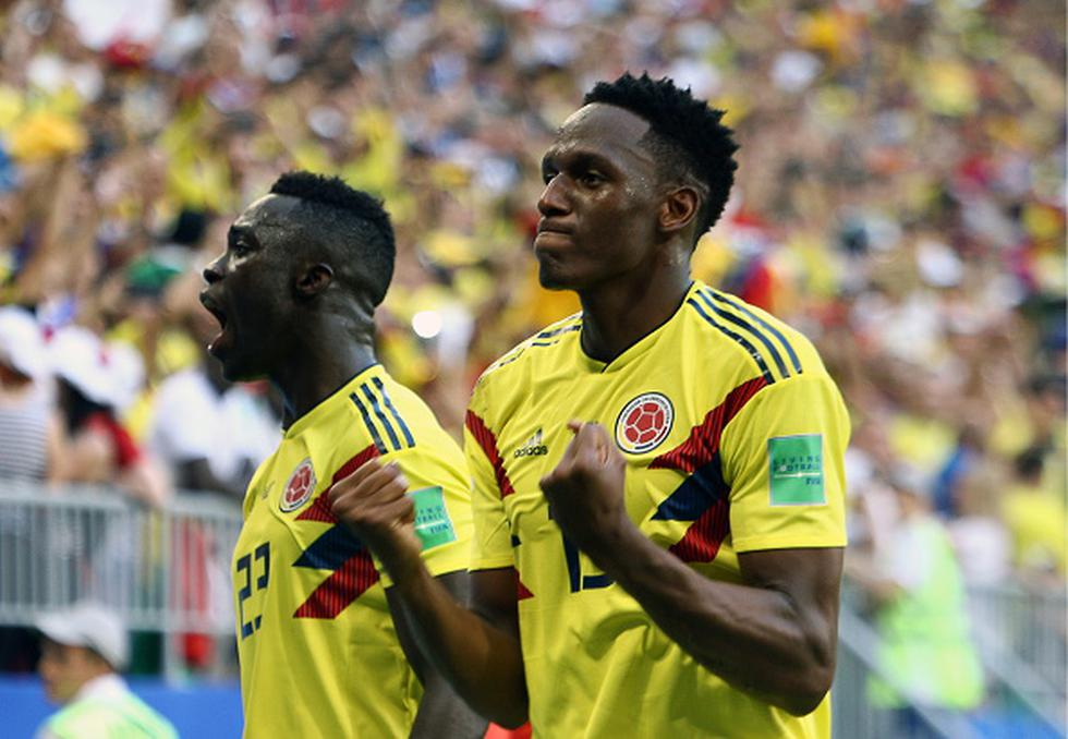 Colombia avanza a la siguiente instancia de Rusia 2018 como líder del grupo H, seguido por Japón (4), mientras que, Senegal (4) y Polonia (3) quedaron eliminados del Mundial. (GETTY)