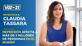 Día Mundial de la Lucha contra la Depresión con Claudia Tassara