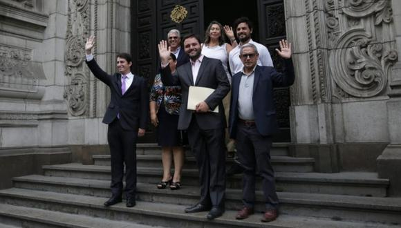 Bancada de Julio Guzmán trasluce diferencias (Alessandro Currarino/GEC).