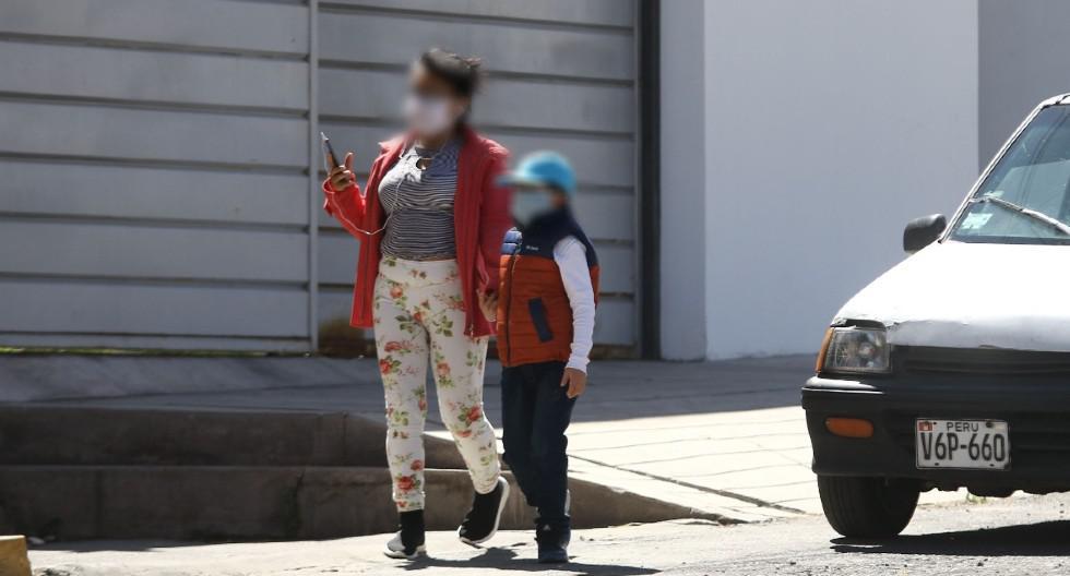 Arequipa: Pese a que el Minsa restringió la salida de menores en la región, hubo quienes no hicieron caso. (GEC)