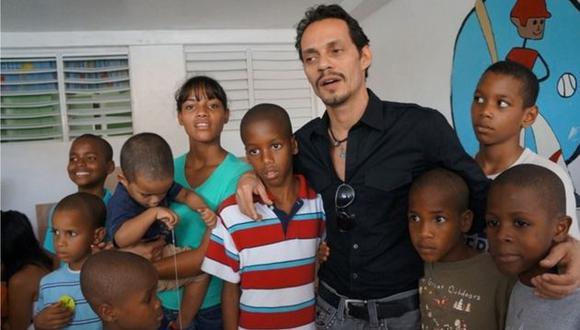 El artista inauguró su primer orfanato en República Dominicana. (maestrocares.org)