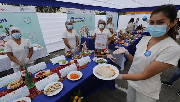 EsSalud presenta comidas que fortalecen el sistema inmunológico como alternativa para cena navideña (Foto: EsSalud)