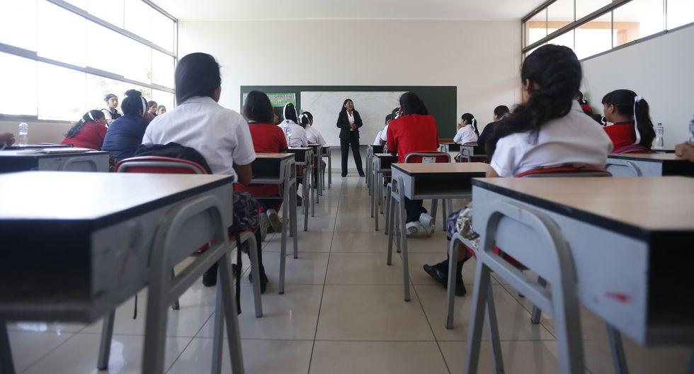 FOTO 7 | Capital Humano. Se propone promover la educación básica alternativa a distancia, e impulsar la educación técnica a final de la secundaria.  (Foto: GEC)