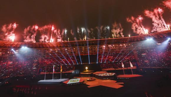 Las mejores postales que dejó la clausura de los Juegos Panamericanos Lima 2019. (Foto: AFP)