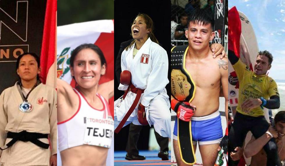 Deportistas de distintas disciplinas consiguieron grandes logros durante la Copa América. (Composición)
