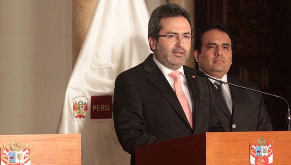 Jiménez ya convesó con otros dirigentes. (Andina)