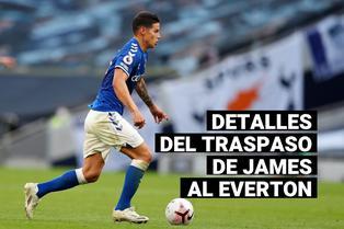 James Rodríguez: Conoce los detalles de su traspaso del Real Madrid al Everton