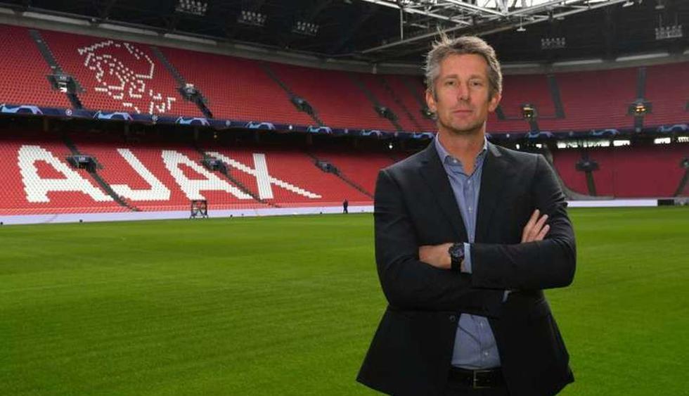 Edwin van der Sar / Ahora: se desempeña como Director General del Ajax. (Foto: Agencias)