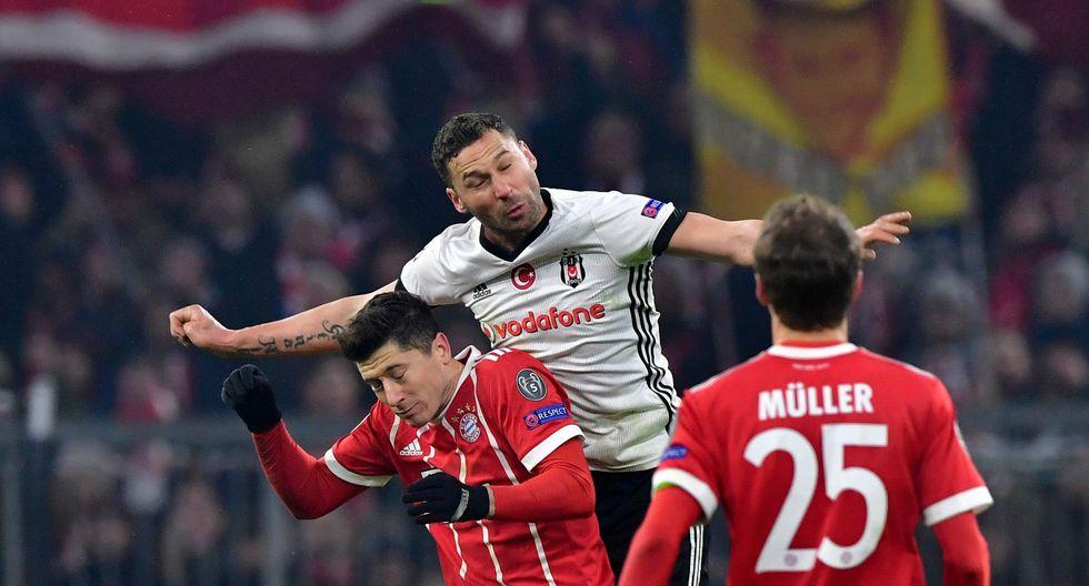 Bayern visita a Besiktas luego de golear 5-0 en el duelo de ida. (AFP)