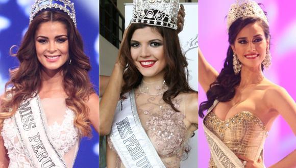 En los últimos 11 años, diversas representantes peruanas han participado en el certamen Miss Universo. (Foto: Composición GEC)