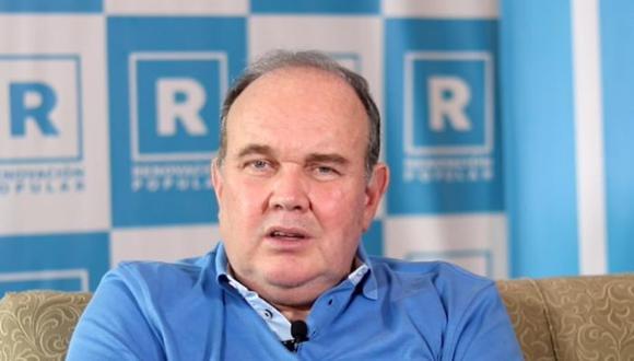 Rafael López Aliaga señaló que votará por Keiko Fujimori en la segunda vuelta de las Elecciones 2021. (GEC)