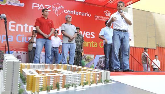 """Mejora. """"Somos conscientes del problema"""", dijo el jefe de Estado. (Andina)"""