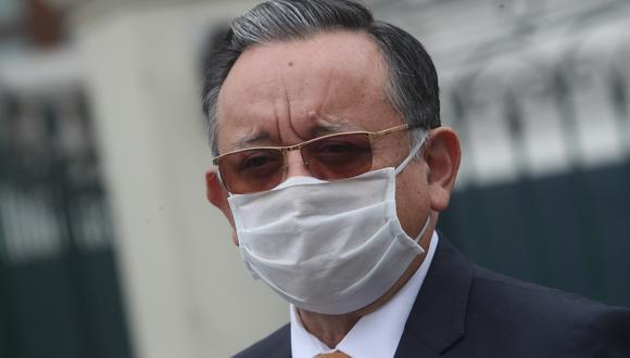 Edgar Alarcón fue denunciado por la fiscal de la Nación, Zoraida Ávalos, por el presunto delito de enriquecimiento ilícito. (Foto: GEC)