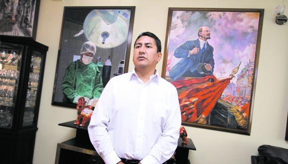 Vladimir Cerrón, secretario general de Perú Libre.