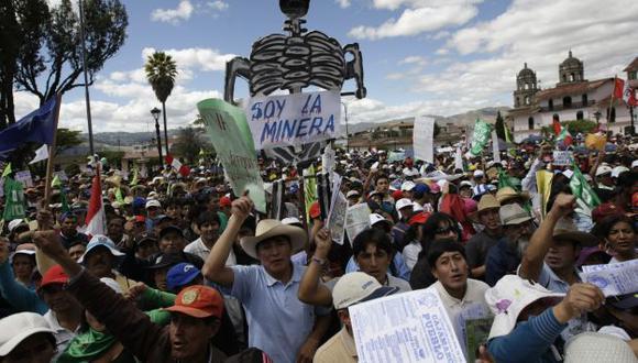 Cajamarca se ha visto asolada por las protestas contra la minería. (Perú21)