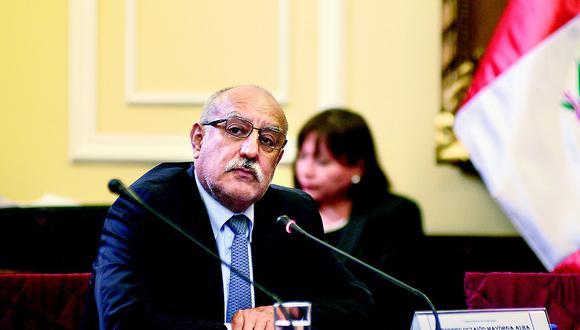 Eleodoro Mayorga está protegido por su inmunidad hasta 2020. (Foto: GEC)