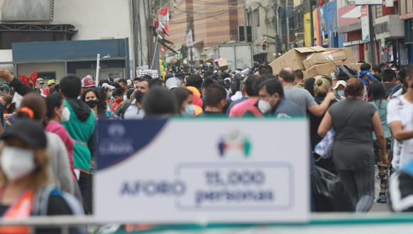 El Minsa indicó que hubo un incremento de casos de contagios por COVID-19 este miércoles. (Foto: Juan Poce/@PHOTO GEC)
