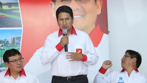 Vladimir Cerrón es el líder de Perú Libre y de Pedro Castillo, el candidato presidencial. (Foto: Ángel Ramón)