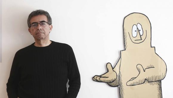 """""""Para lograr un producto de humor gráfico, tienes que sentir el humor, aunque no lo manifiestes. Ves a Quino y es tranquilo. Lo que sale de él lo lleva adentro"""", señala el diseñador gráfico."""