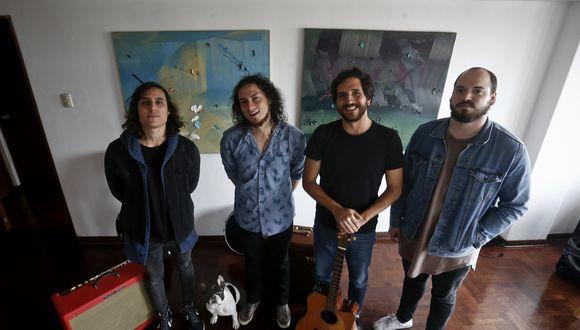 Autobús acaba de publicar su tercer disco 'Cuerpos de luz' (Renzo Salazar).