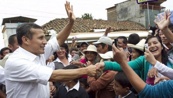 Ayer visitó Ayabaca, en Piura. (Andina)