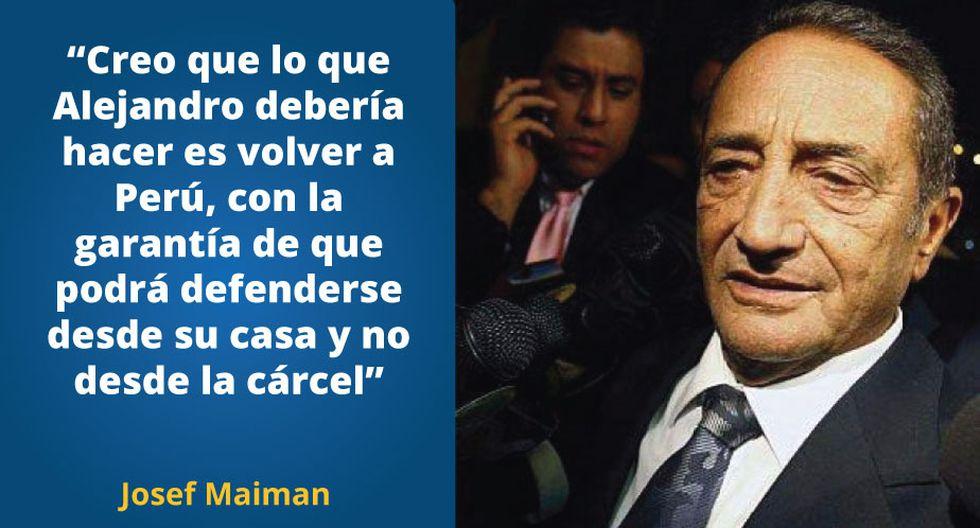 Josef Maiman es acusado como presunto receptor de las coimas que se investiga en el caso Ecoteva.