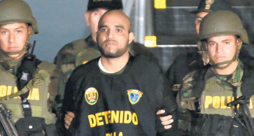 Gerson Gálvez, alias Caracol, purga condena en el penal de Challapalca. (Lino Chipana / El Comercio)