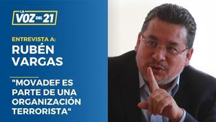 """Rubén Vargas: """"Movadef es parte de una organización terrorista"""""""
