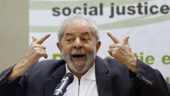 Luiz Inácio Lula da Silva, minimizó la solicitud de la Fiscalía de ser incluido en el caso Petrobras (AP).