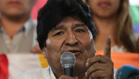 Morales señaló que abandonó Bolivia con pocas cosas. (AFP)