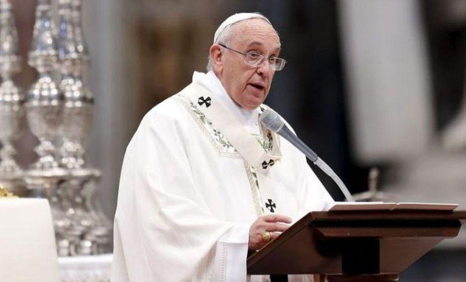 Papa Francisco pide los países actúen para evitar naufragios de inmigrantes en el Mediterráneo. (Foto: Reuters)