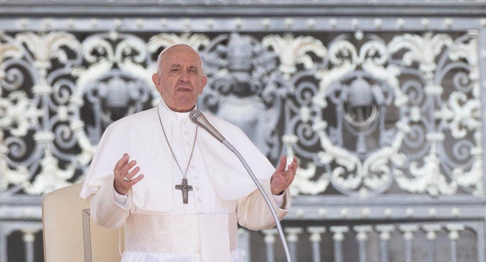 El papa se pronunció a propósito del Día del Trabajo. (Foto: EFE)