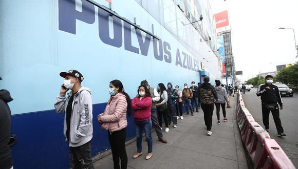 Polvos Azules contará con cámaras de seguridad para garantizar que no se formen aglomeraciones en los pasillos del establecimiento. (Foto: Jesus Saucedo / GEC)
