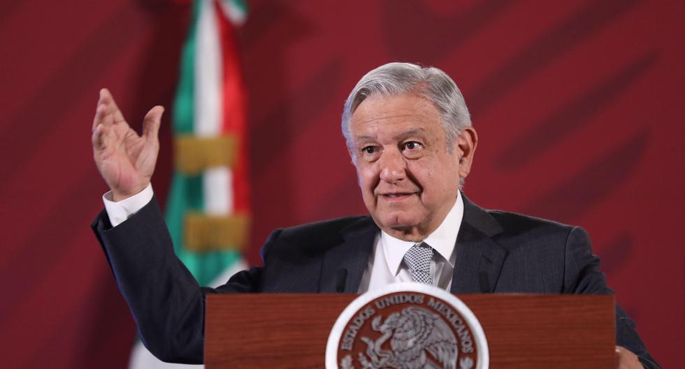 AMLO presumió el efecto de las políticas de contención de su Gobierno en un vídeo que publicó horas antes en redes sociales. (Foto: EFE/ Sáshenka Gutiérrez).