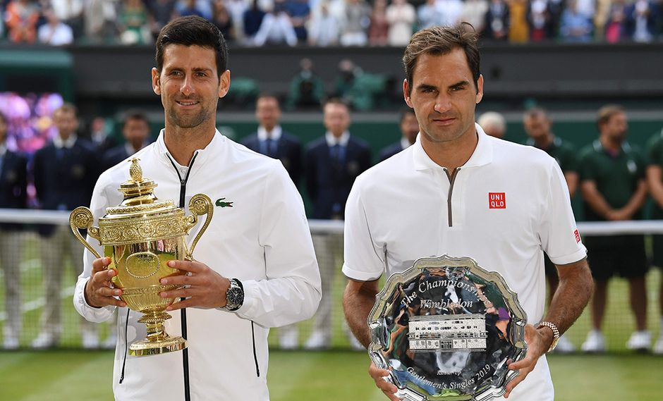 Novak Djokovic alcanza su quinto Wimbledon luego de vencer a Roger Federer. (Foto: AFP)