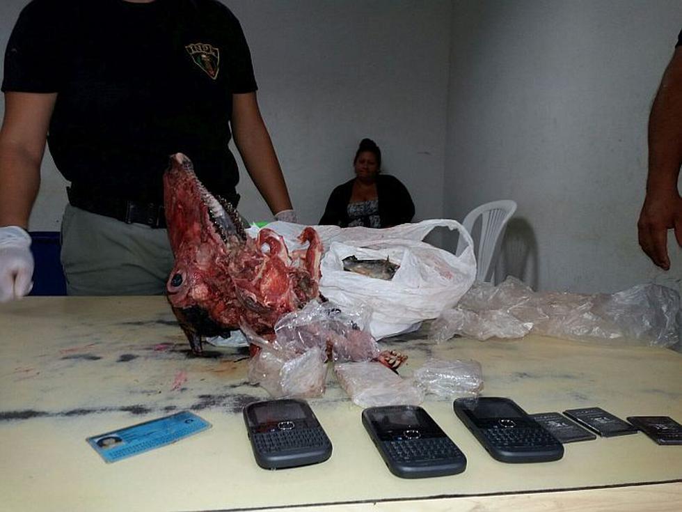 Mujer escondió celulares en cabeza de carnero para meterlos a penal. (Perú21)