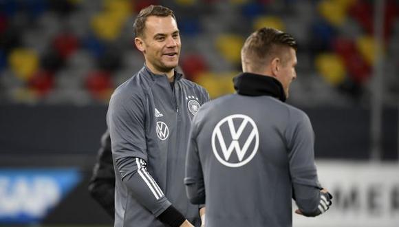 El capitán Manuel Neuer coordinó con sus compañeros la entrega del dinero para luchar contra el coronavirus. (Foto: AFP)
