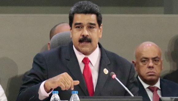 """Nicolás Maduro denunció que su gobierno es víctima de """"arremetida imperialista"""". (AFP)"""