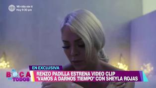 """Sheyla Rojas sorprende como protagonista de videoclip """"Vamos a darnos tiempo"""""""