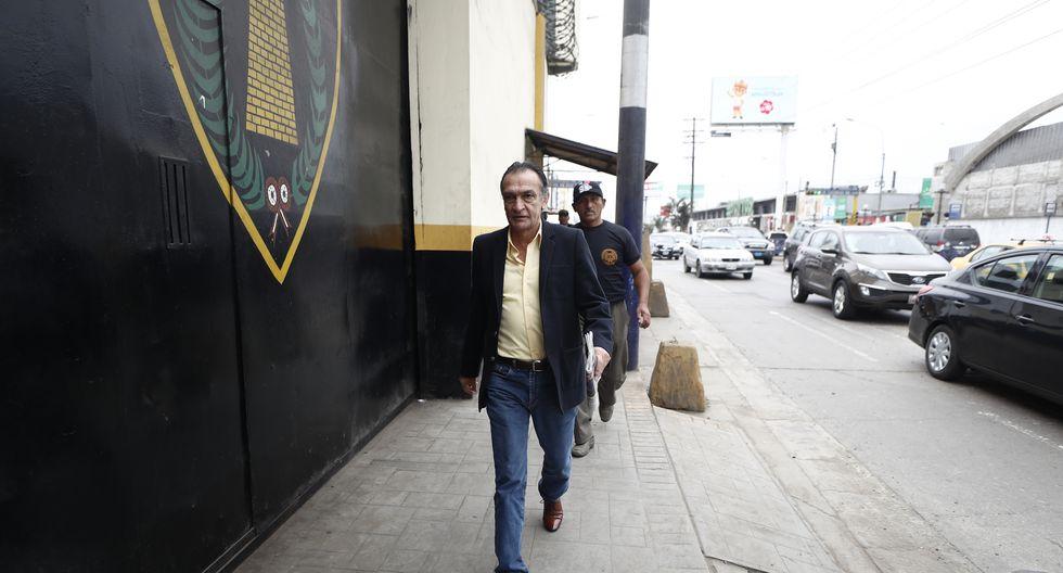 """""""No tengo ningún temor de que se me investigue. El fiscal Carrasco miente"""", dijo Héctor Becerril (César Campos/GEC)."""