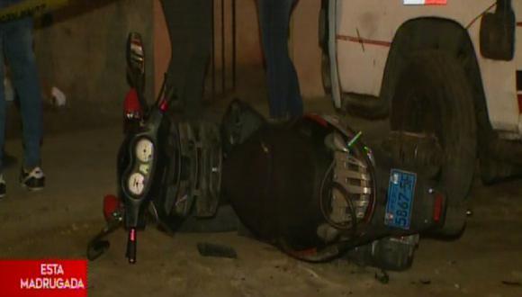 Hombre fue asesinado de cuatro balazos en el Cercado de Lima.