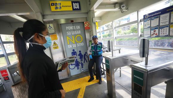 La transferencia busca garantizar el servicio integrado de transporte. (Foto: Gonzalo Córdova / GEC)